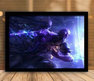 Poster com Moldura - League of Legends LoL Ryze