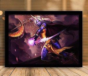 Poster com Moldura - League of Legends LoL Soraka