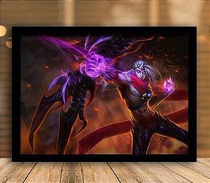 Poster com Moldura - League of Legends LoL Varus