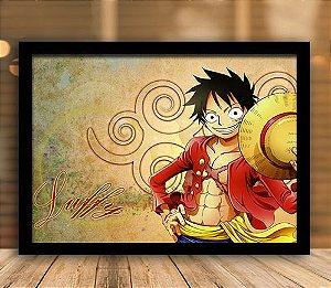 Poster com Moldura - One Piece   Mo.07