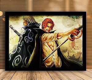 Poster com Moldura - One Piece   Mo.10