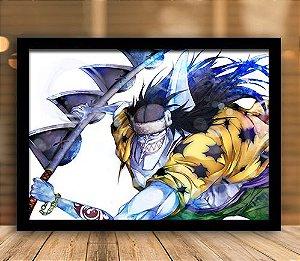 Poster com Moldura - One Piece   Mo.21