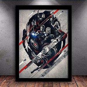 Poster com Moldura - Vingadores Ultron