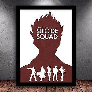 Poster com Moldura - Esquadrão Suicida