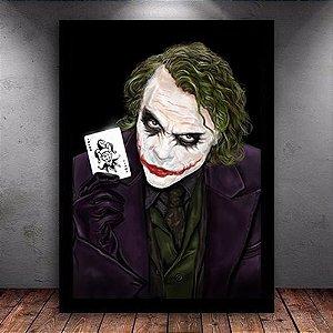 Poster com Moldura - Coringa The Joker