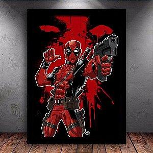 Poster com Moldura - Deadpool Mo.3