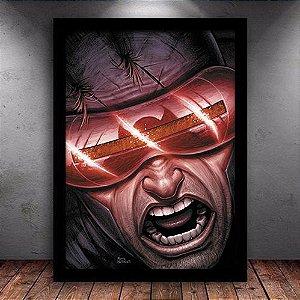 Poster com Moldura - Ciclope X-Men