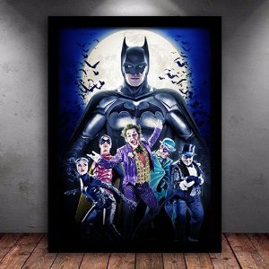 Poster com Moldura - Batman Classico