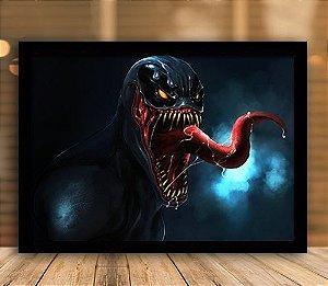 Poster com Moldura - Venom Mo.3