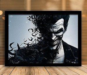 Poster com Moldura - Coringa And Bats