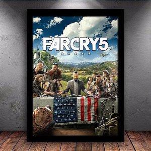 Poster com Moldura - Far Cry 5