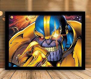 Poster com Moldura - Thanos Ascension