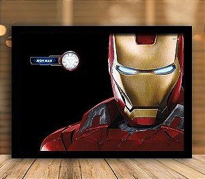 Poster com Moldura - Iron Man