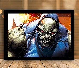 Poster com Moldura - Darkseid
