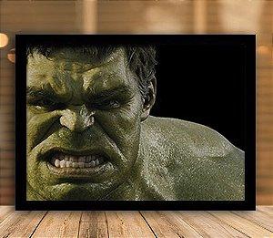 Poster com Moldura - Hulk Esmaga!