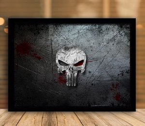 Poster com Moldura - The Punisher