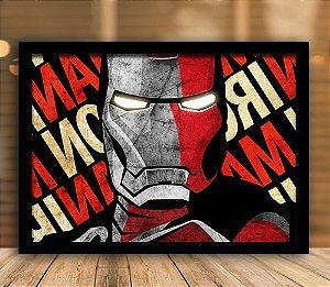 Poster com Moldura - Homem de Ferro