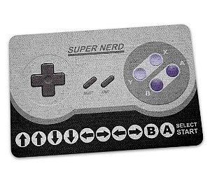 Tapete Capacho Controle Super Nintendo