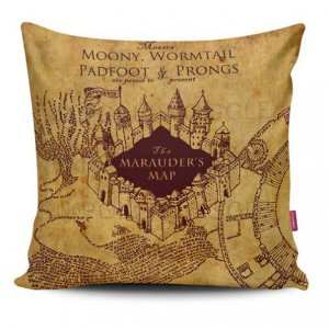 Almofada - Mapa Do Maroto Harry Potter