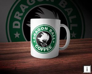 Caneca Linha Coffee - Dragon Ball