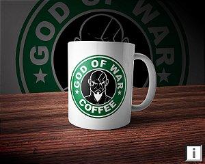 Caneca Linha Coffee - God Of War