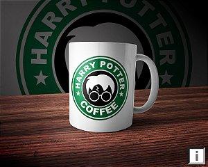 Caneca Linha Coffee - Harry Potter