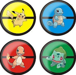 Porta Copos - Pokemons Iniciais Índigo