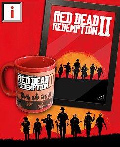 OFERTA - Kit Red Dead Redemption 2 Caneca + Quadro Grátis