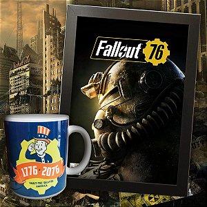 OFERTA - Kit Fallout 76 Caneca + Quadro Grátis