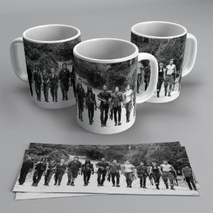 Caneca Personagens The Walking Dead