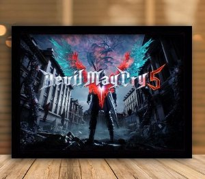 Poster com Moldura - Devil May Cry 5