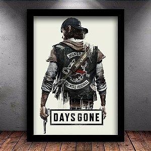 Poster com Moldura - Days Gone