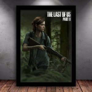 Poster com Moldura - The Last Of Us Part 2