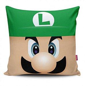 Almofada - Super Mario Bros Luigi