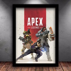 Poster com Moldura - Apex Legends
