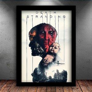 Poster com Moldura - Death Stranding Kojima