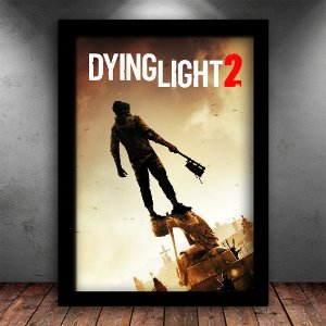 Poster com Moldura - Dying Light 2 Runner