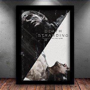 Poster com Moldura - Death Stranding Mo. 2