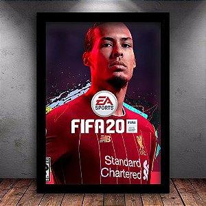 Poster com Moldura - Fifa 20
