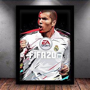 Poster com Moldura - Fifa 20 Legendary Edition