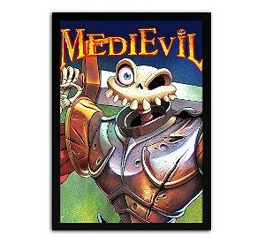 Poster com Moldura - Medievil