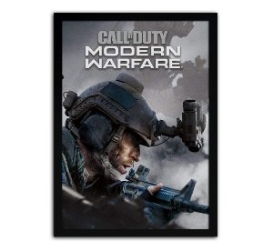Poster com Moldura - Call Of Duty Modern Warfare Mo.2