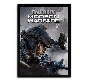 Poster com Moldura - Call Of Duty Modern Warfare Mo.2