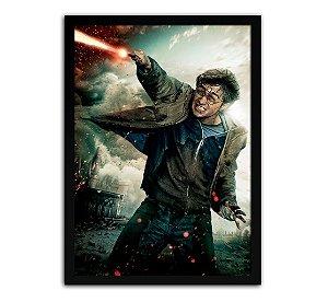 Poster com Moldura - Harry Potter