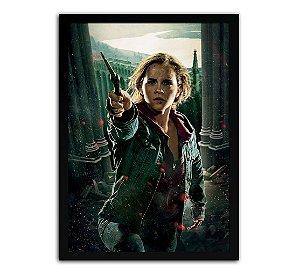 Poster com Moldura - Harry Potter Hermione Granger Mo.2