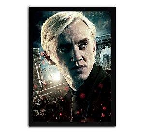 Poster com Moldura - Harry Potter Draco Malfoy Mo.2