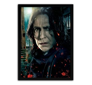 Poster com Moldura - Harry Potter Severus Snape Mo.2