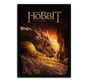Poster com Moldura - O Hobbit A Desolação De Smaug