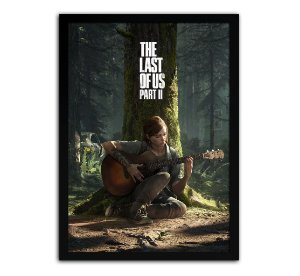 Poster com Moldura - The Last Of Us Part 2 Ellie