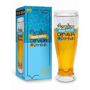 Copão de Cerveja Gel - Agradeça Se Você Bebe Mais